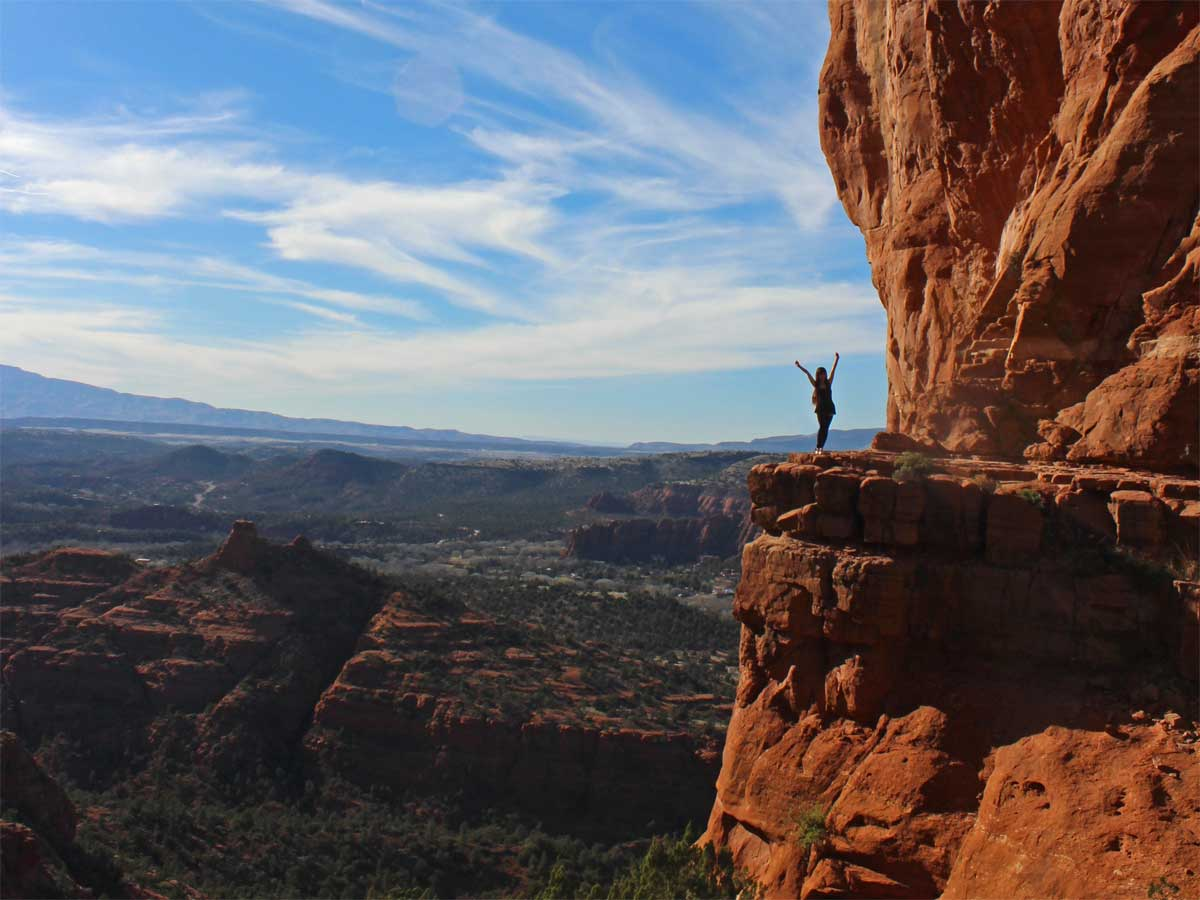 Sedona 39 s cathedral rock hiking trail red rock perfect for The sedona