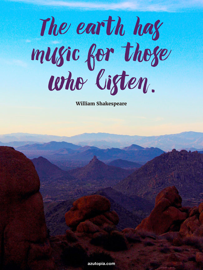 Inspiration, Shakespeare, Sunset, Dusk, Mountains, Desert, Pinnacle Peak, Scottsdale, Phoenix Metropolitan Area