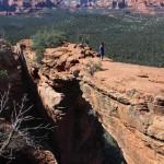 Woman, Landscape, Sedona, Arizona, Devils Bridge, Stone Arch, Bridge, Sedona Area, Best Sedona Hikes