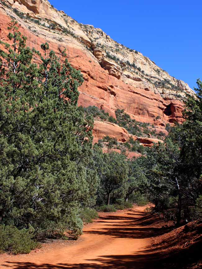 Sedona, Arizona, Trail, Canyon, Devil's Bridge Hiking Trail, Red Rocks, Hiking