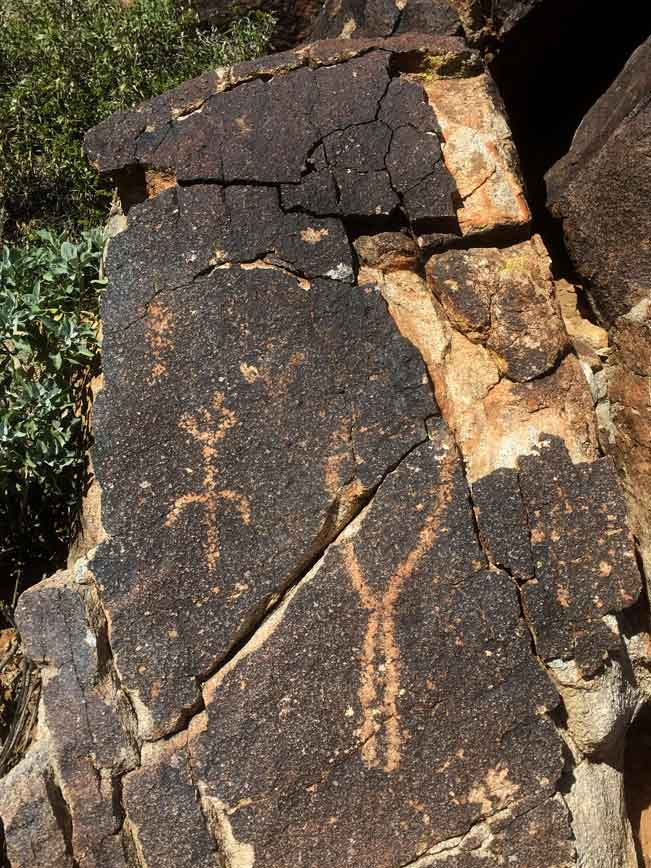 Central Arizona, Phoenix, Wadell, White Tank Mountains, Waterfall Hiking Trail, Heiroglyphics, Native American, Artifact