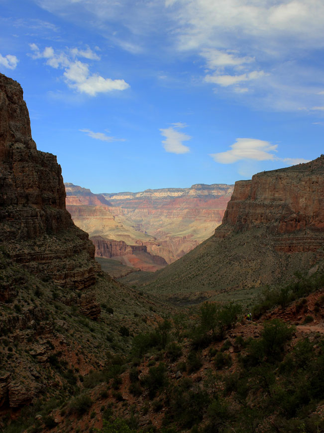Landscape, Arizona, Grand Canyon, Bright Angel Hiking Trail