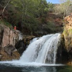 Landscape, Teens, Fossil Creek, Waterfall, Arizona, Coconino Forest, Fossil Creek Waterfall Trail, Water Hikes, Best Summer Hikes Arizona, Arizona Hiking Trails with Water