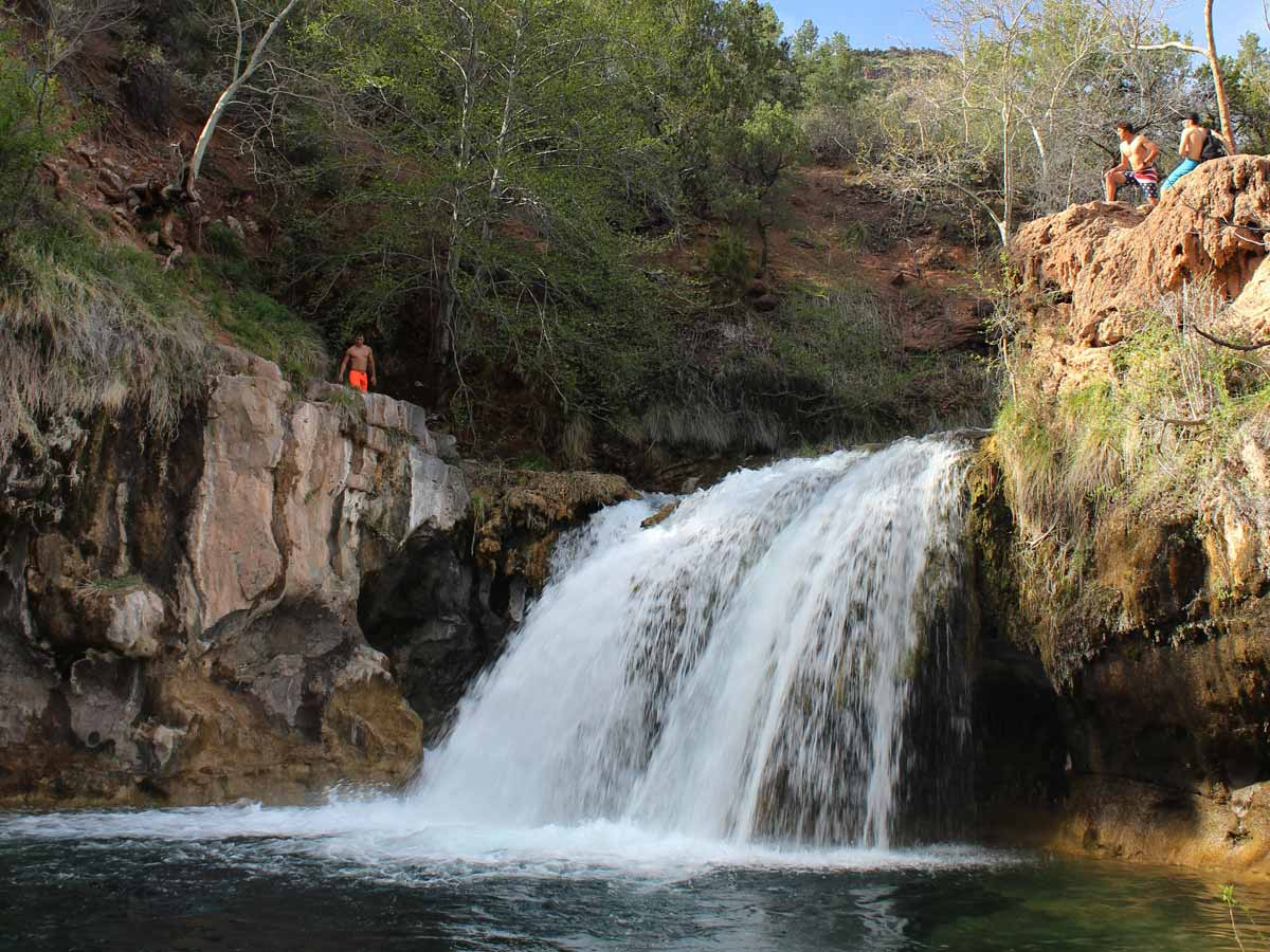 my experience with nature in the gold creek canyon Directly on creek view trout swimming by from your  • bear creek nature center  my husband had no issues so he kept the king bed and i got to.