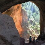 Lanscape, Two Boys, Tonto Natural Bridge, Waterfall, Payson, Arizona, Family Hikes, Arizona's Best Family Hikes