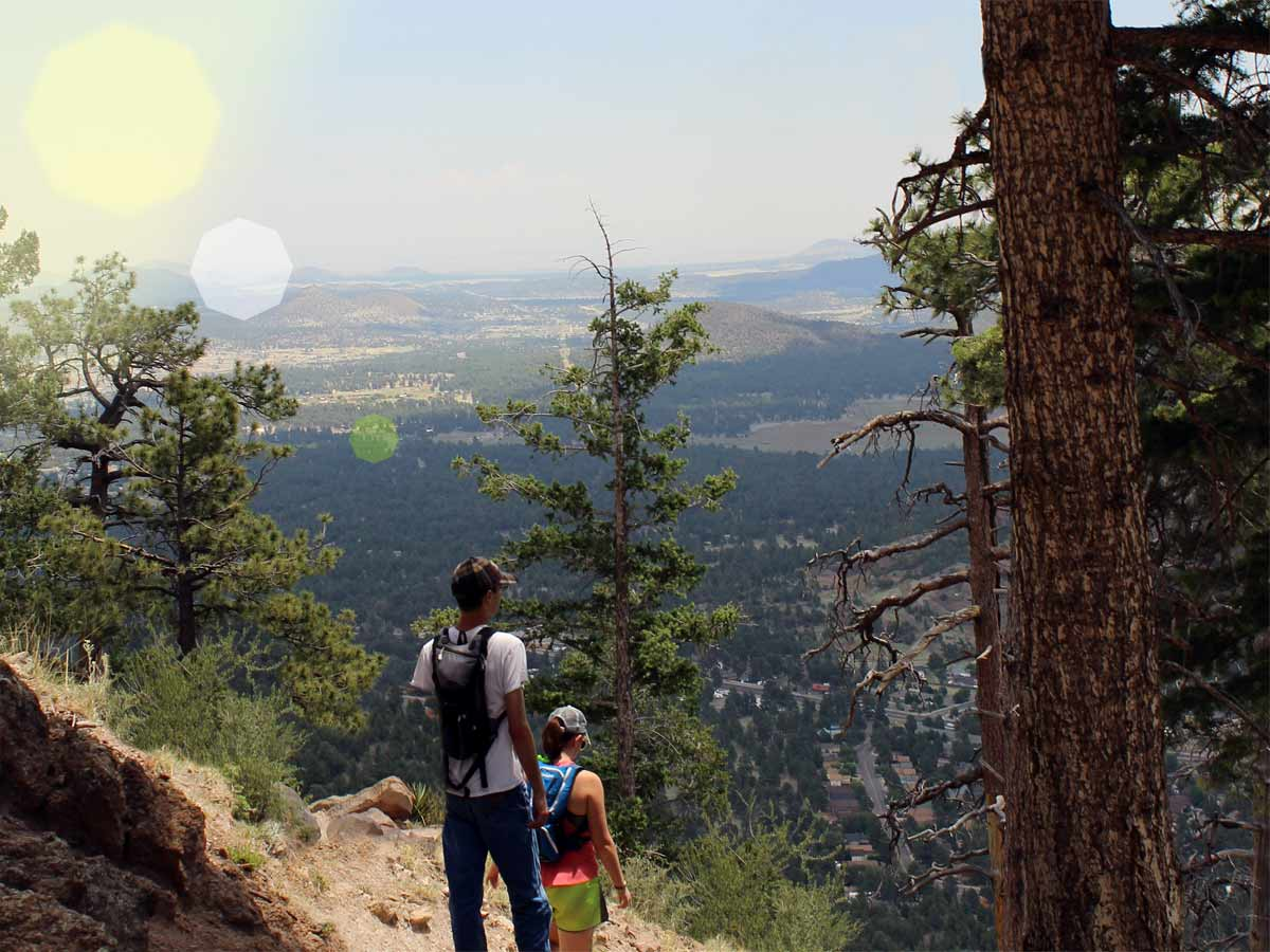 Distance From Sedona To Phoenix >> Flagstaff's Elden Lookout Hiking Trail: a Cardio Lovers Dream