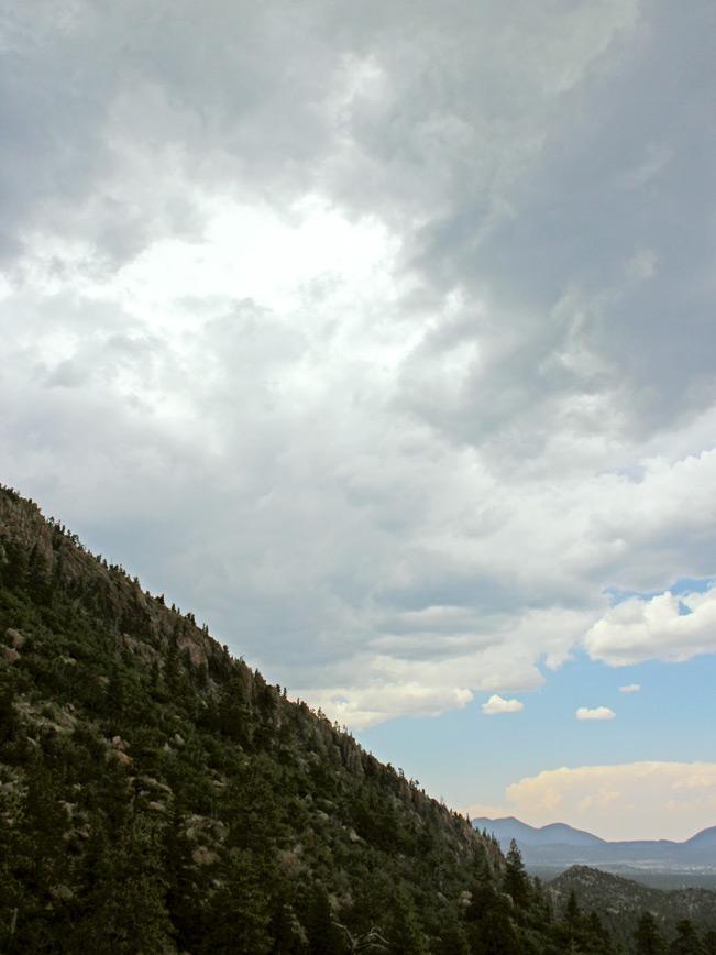 Landscape, View, Flagstaff, Arizona, Elden Mountain, Elden Lookout Hiking Trail