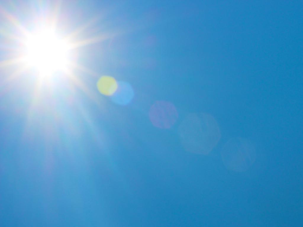 Sunburst, Sky