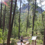 A landscape, Hiker, Base, Prescott, Arizona, Thumb Butte Hiking Trail, Prescott Area, Prescott Arizona Hiking Trails