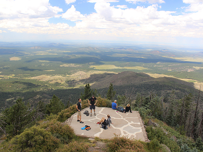 Hikers, Views, Summit, Peak, Flagstaff, Arizona, Kendrick Mountain, Kendrick Mountain Hiking Trail