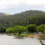 Landscape, View, People, kayaks, Prescott, Arizona, Lynx Lake, Marina, Lynx Lake Recreation Hiking Trail, Family Hikes, Arizona's Best Family Hikes