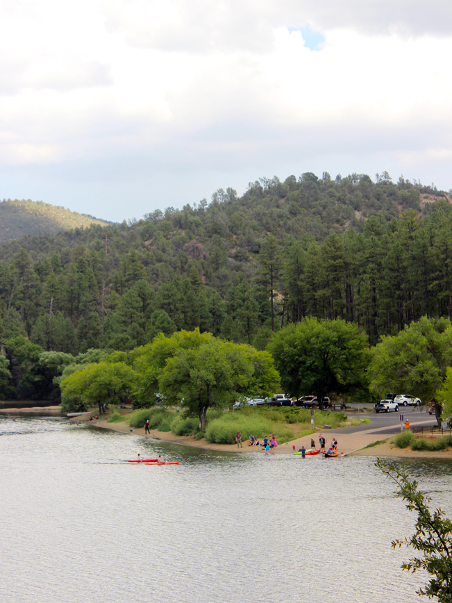 Landscape, View, People, kayaks, Prescott, Arizona, Lynx Lake, Marina, Lynx Lake Recreational Hiking Trail