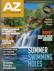 Magazine, Cover, AZ Outdoor Magazine