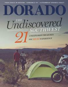 Dorado Magazine Cover, Undiscovered Southwest, January/February 2016 Issue