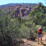 Landscape, Family, Hikers, Flagstaff, Arizona, Red Mountain Hiking Trail, Red Rock Mountain, Family Hikes, Arizona's Best Family Hikes