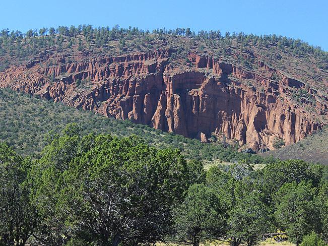 Landscape, Cliffs, Flagstaff, Arizona, Red Mountain Hiking Trail, Red Rock Mountain