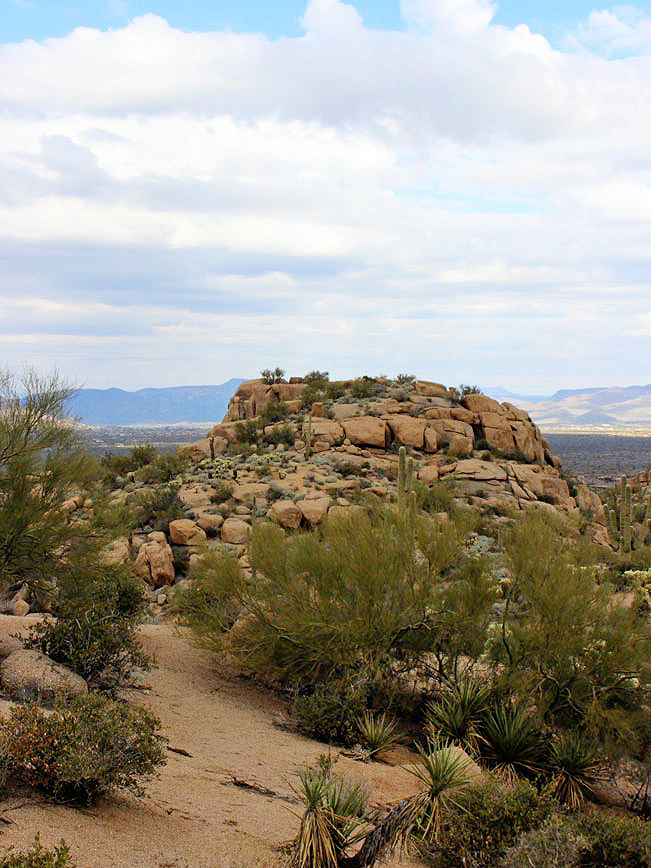 Landscape, View, Granite, Outcroppings, Boulders, Scottsdale, Arizona, Pinnacle Peak Mountain, Pinnacle Peak Hiking Trail