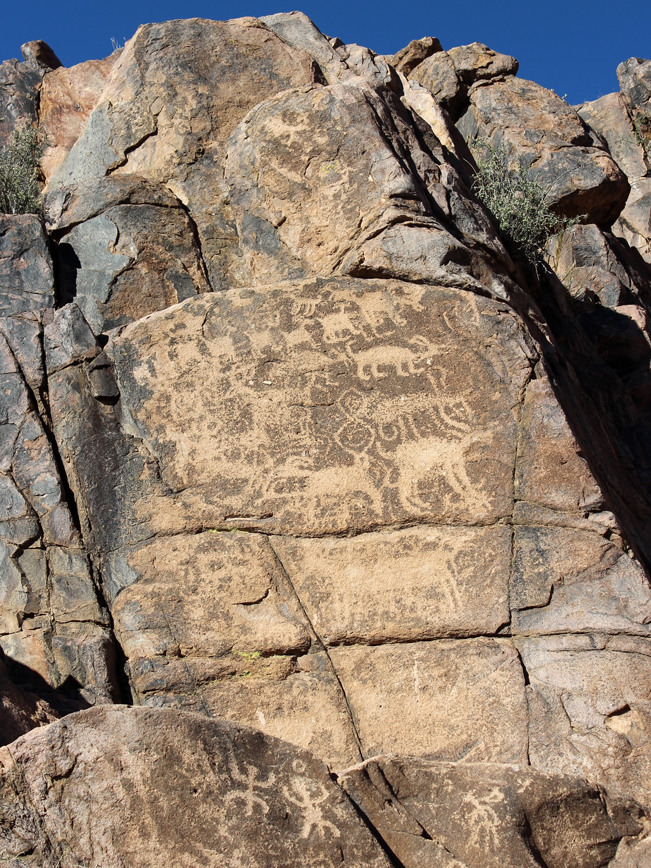 Native American, Hieroglyphics, Boulders, Superstition Mountains, The Hieroglyphics Hiking Trail, Gold Canyon, Arizona, Phoenix