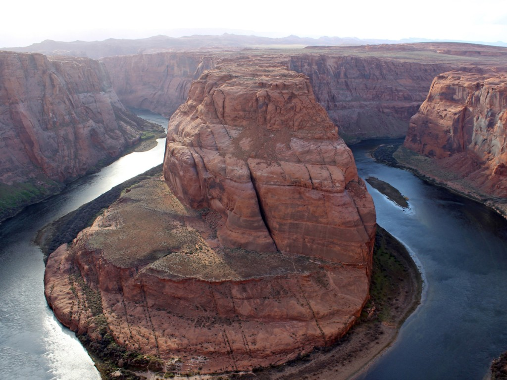 Landscape, View, Colorado River, Horseshoe Bend, Lookout Point, Page, Arizona, Cliffs, Colorado Plateau, Horseshoe Bend Hiking Trail, Family Hikes, Easy