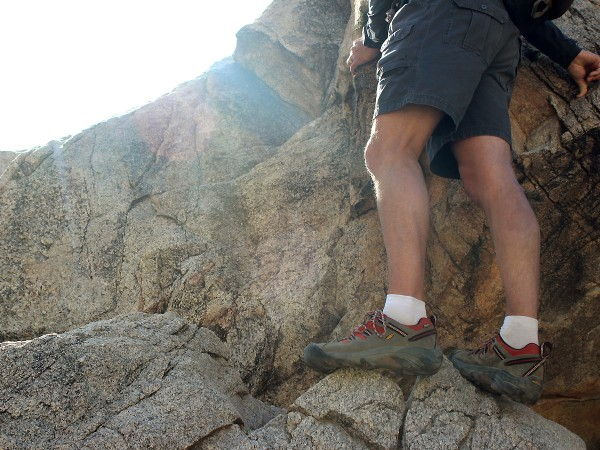 Landscape,Hiker, Rock Face, Sunshine, Choosing the Perfect Hiking Shoe or Boot