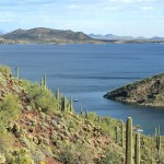 Landscape, View, Lake Pleasant, Phoenix, Arizona, Summit, Yavapai Point Hiking Trail, Phoenix Area Hikes, Moderate Hikes, Pet Friendly Hikes