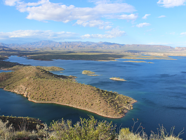 Landscape, View, Lake Pleasant, Coves, Bradshaw Mountains, Phoenix, Arizona, Summit, Yavapai Point Hiking Trail, Phoenix Area Hikes, Moderate Hikes, Pet Friendly Hikes