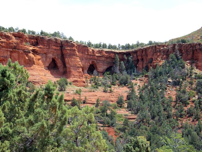 Landscape View, Caves, Ridge, Soldier Pass Hiking Trail, Sedona, Arizona, Moderate Hikes, Sedona Area