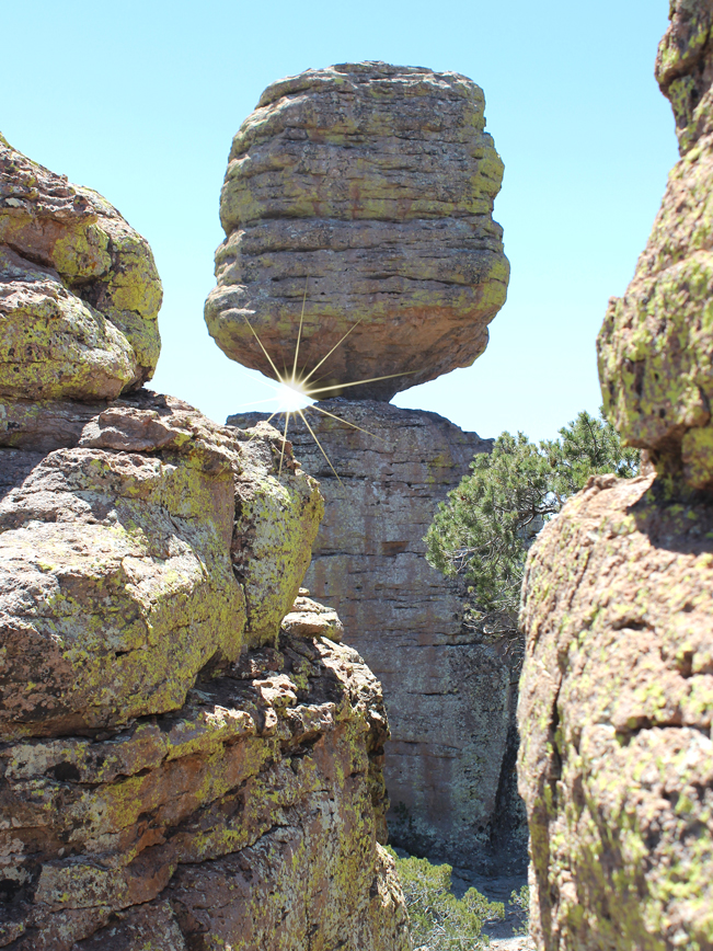 Hoodoos, Big Balanced Rock Hiking Trail, Chiricahua National Park, Heart of the Rocks, Southeastern, Arizona, Willcox, Moderate Hikes, Tucson Area Hikes.