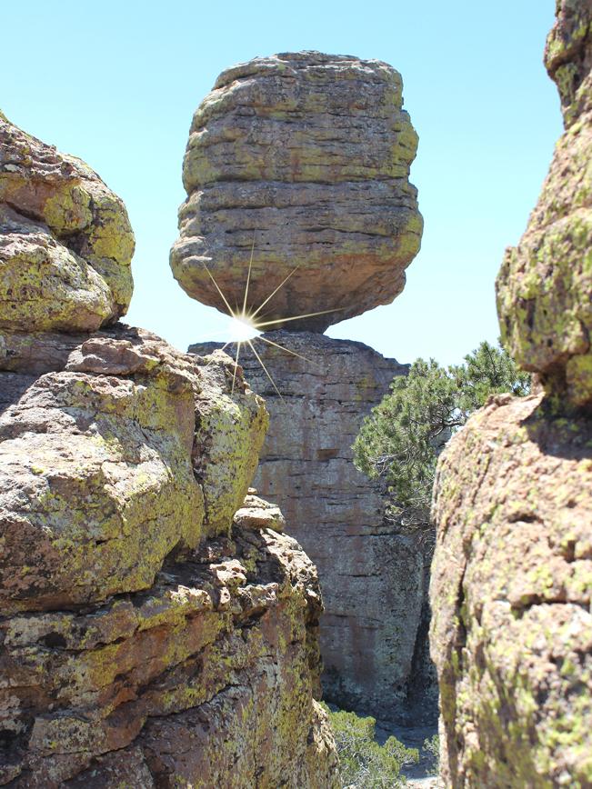 Hoodoos, Big Balanced Rock Hiking Trail, Chiricahua National Park, Heart of the Rocks, Southeastern, Arizona, Willcox, Moderate Hikes, Tucson Area Hikes.