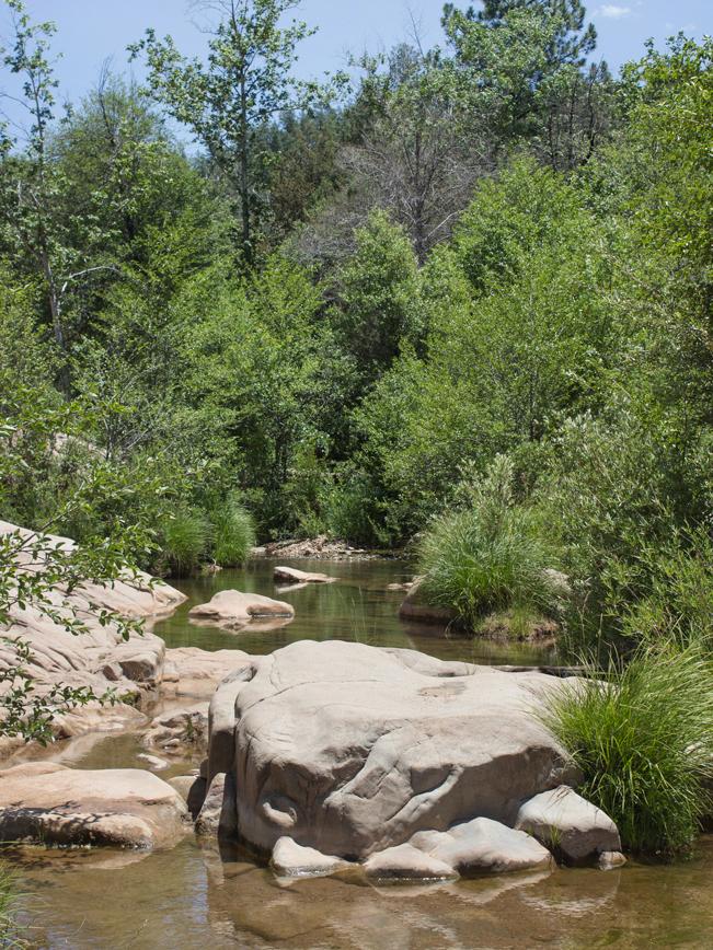 Water Wheel Hiking Trail; Payson; Arizona; Easy Hikes; Water Hikes; Creek; Boulders; Arizona Summer Hikes