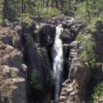 Sycamore Rim Loop Trail; Hiking Trail; Northern Arizona Hiking Trail; Williams; Arizona; Sycamore Fall; Sycamore Canyon; Hikers; Creek; Waterfall; Pine Trees; Rim Trail; Easy Hiking Trails; Pet Friendly Hiking Trails; Family Friendly Hiking Trails; Copyright azutopia.com. No use without permission.