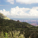 Woodchute Hiking Trail; View of Sedona Red Rocks and Woodchute Mountain; Coconino National Forest; Woodchute Wilderness; Mingus Mountain; Jerome; Prescott Area Hiking Trails; Easy Hiking Trails; Pet Friendly Hiking Trails; Copyright azutopia.com; No use without permission.